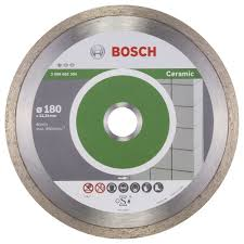 Bosch - Best Serisi Seramik İçin Elmas Kesme Diski - 180 X 25,40 X 2,2 X 10 Mm Bosch